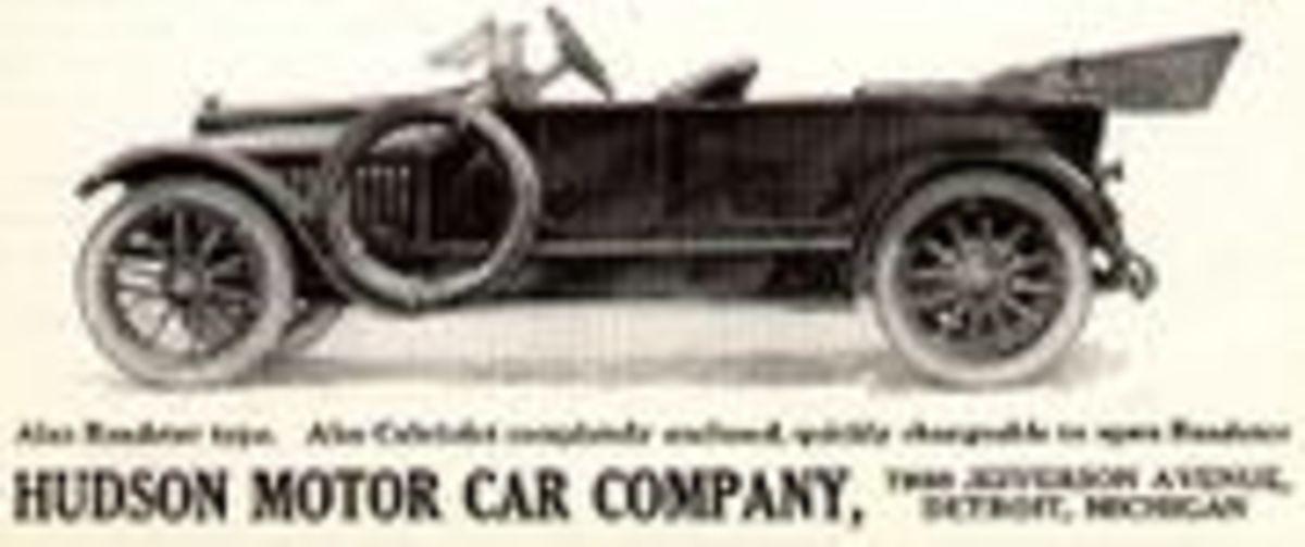 Hudson advertised this car in 1914.