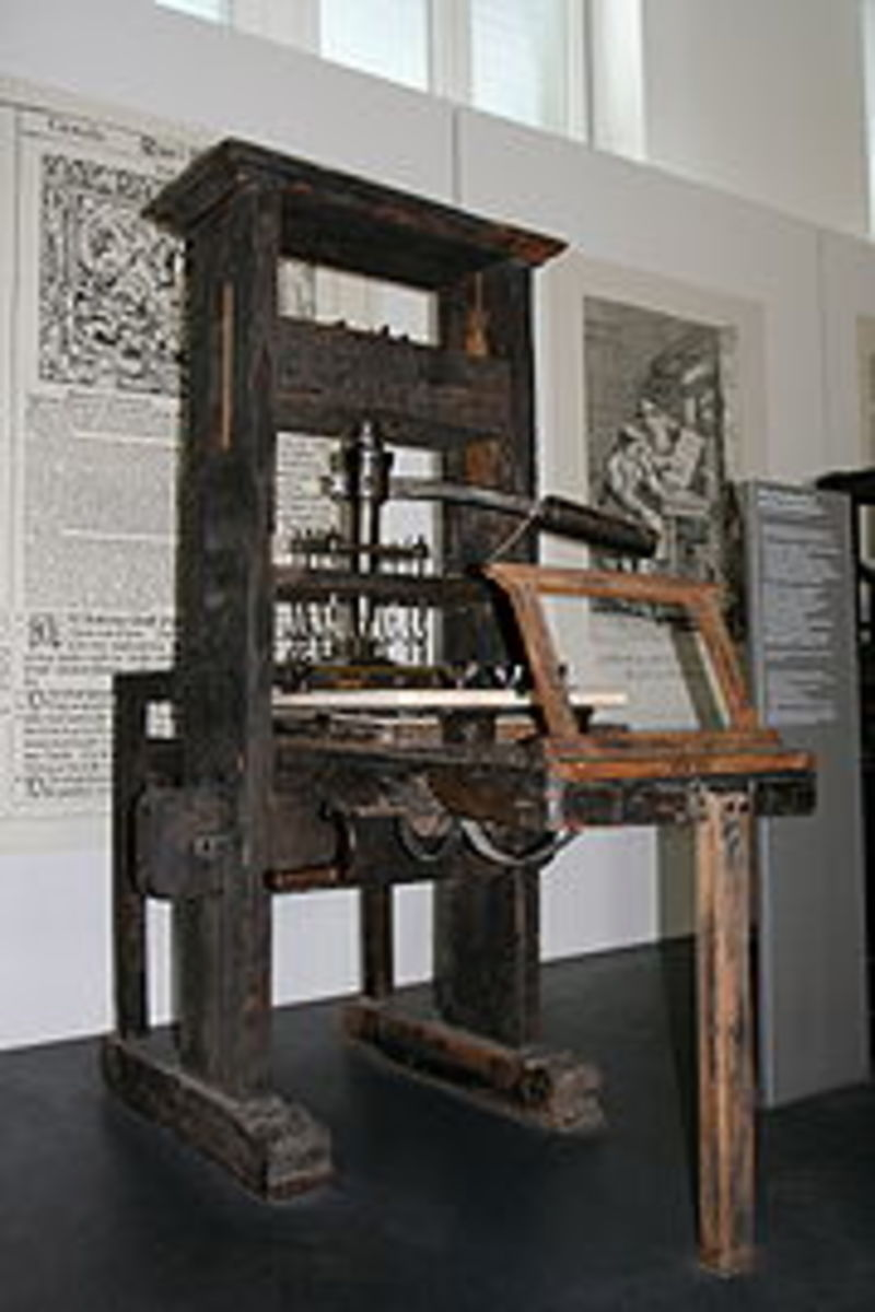 Gutenberg's printing press opened up new vistas in culture's conversation and the effectiveness of God's truth.