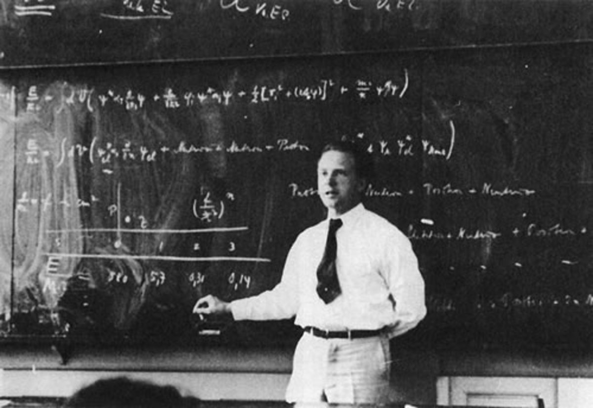 One of the greatest Theoretical Physicists of the 20th Century, produced countless papers and the infamous Heisenberg Uncertainty Principle.
