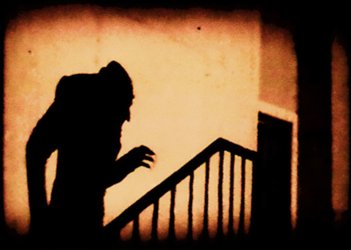 Image from Nosferatu (1922) directed by F. W. Murnau
