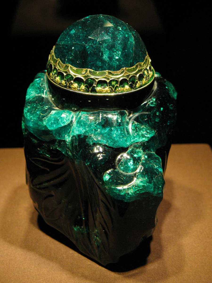 2860-carat Colombian Emerald
