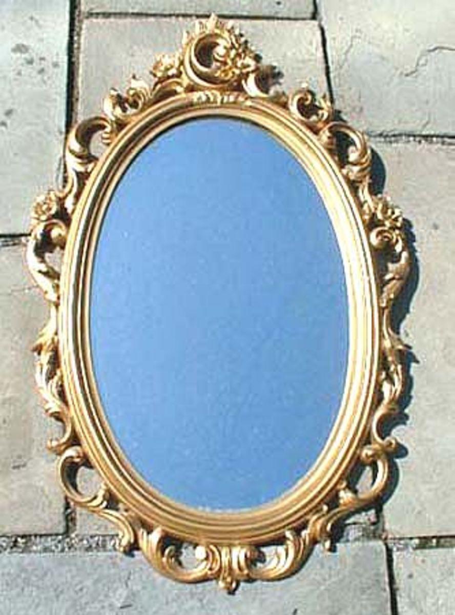value of antique mirrors