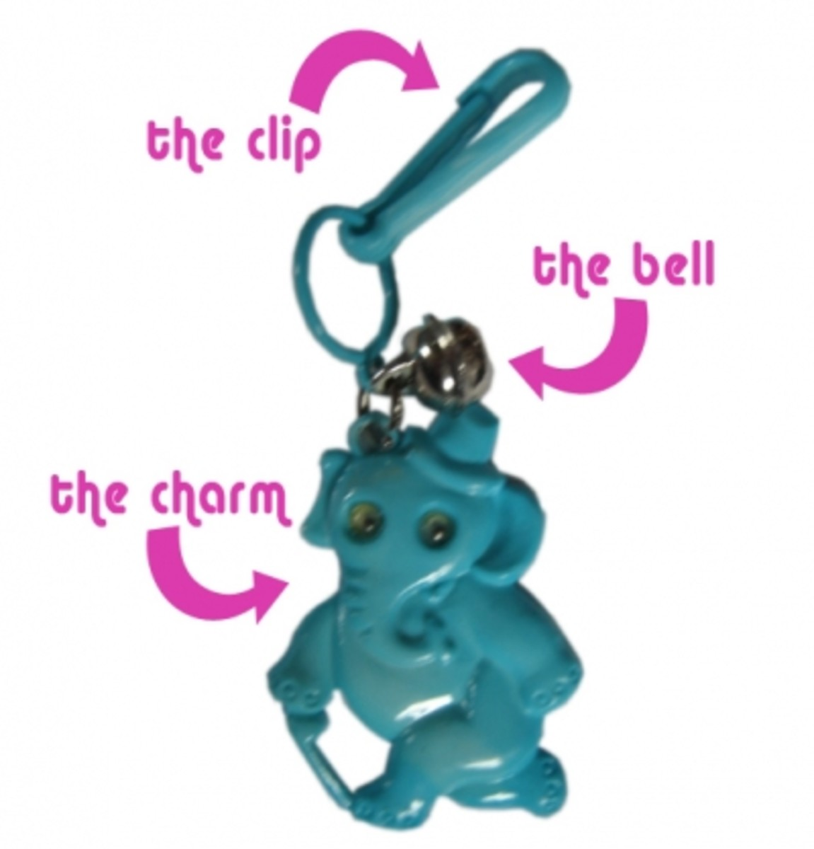 Anatomy of a 1980s Plastic Charm