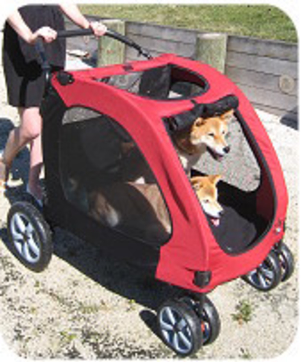 Pet Gear Expedition Dog Stroller, For dogs up to 150 pounds