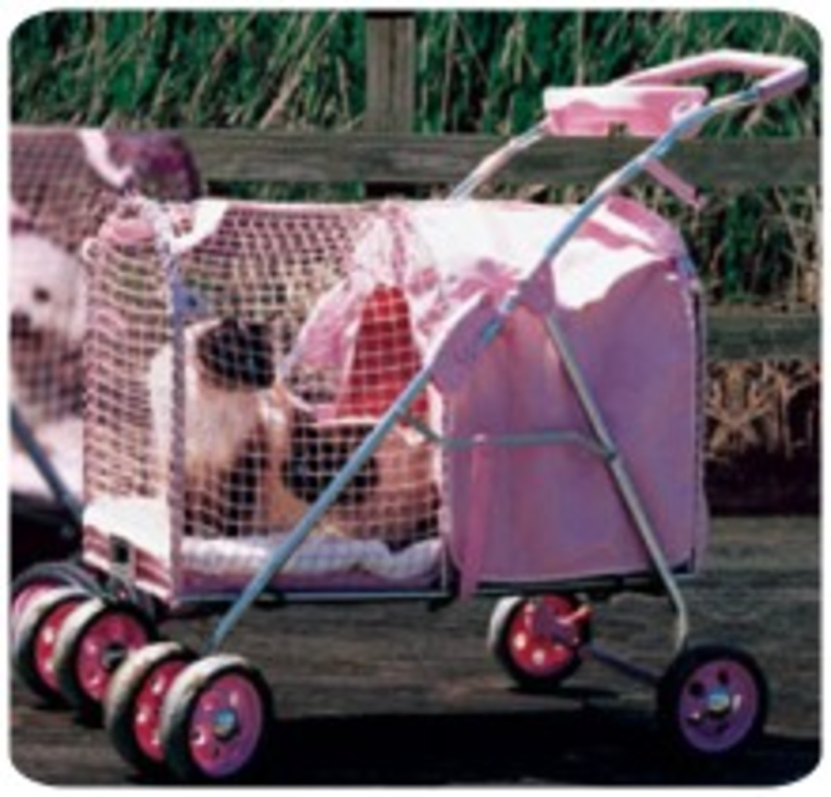 Kitywalk Pink SUV Dog Stroller, For dogs up 50 pounds