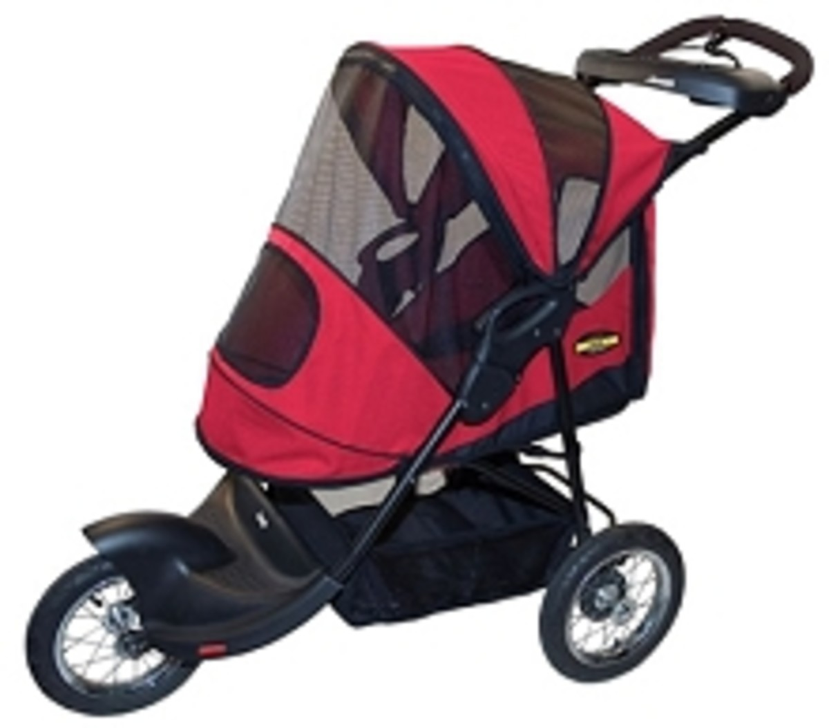 The AT3 All Terrain Pet Stroller is perfect for dogs or cats up to 60 pounds.