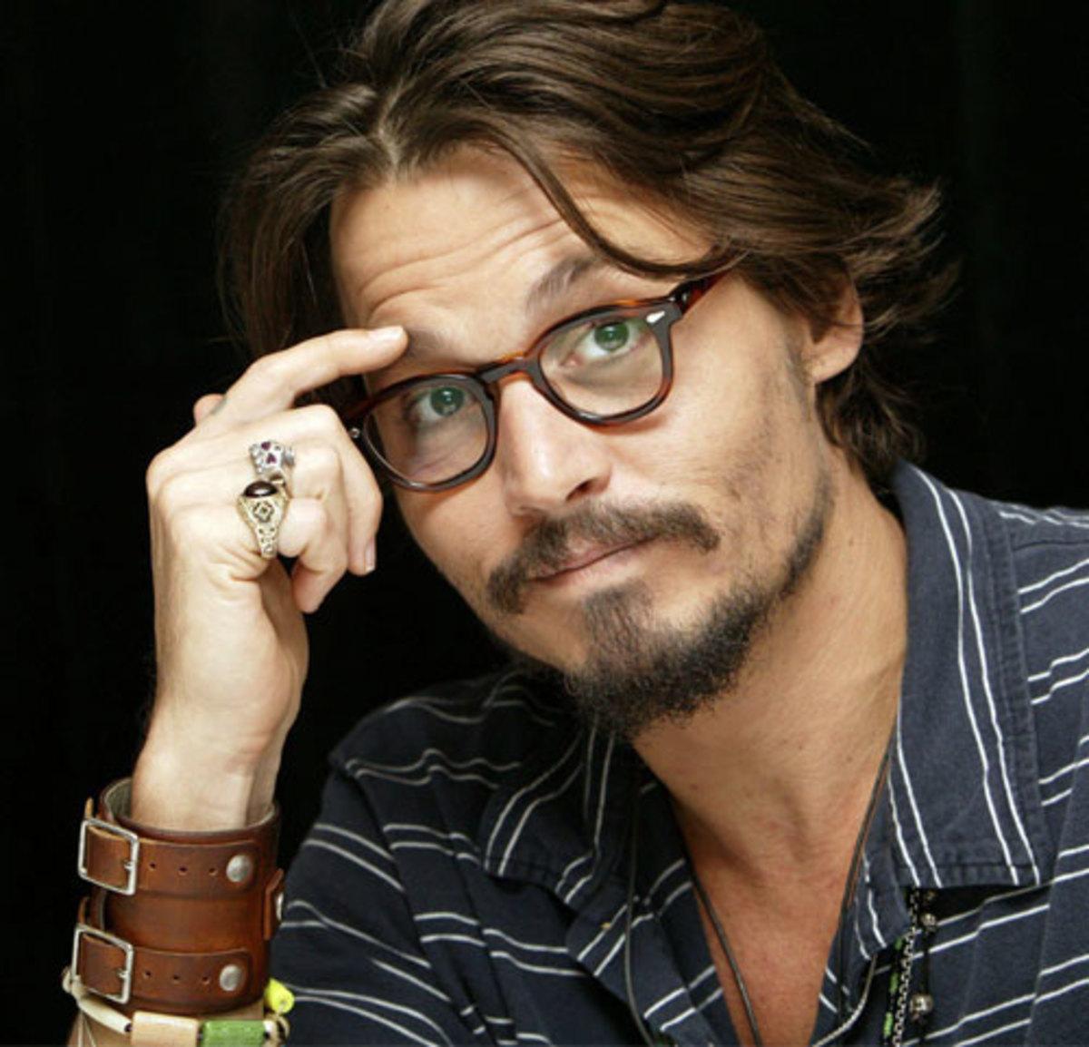 Johnny Depp Makes Glasses Look Amazing