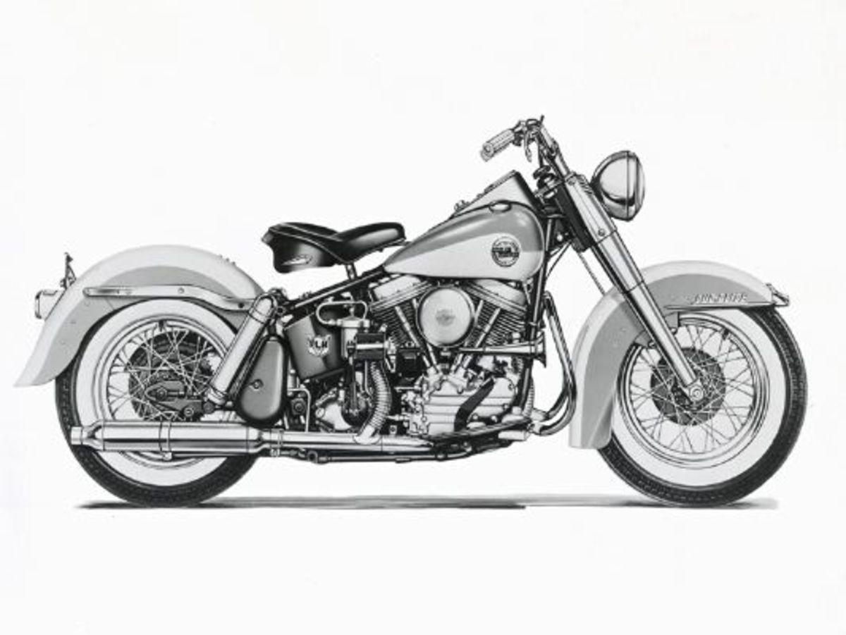 1958 Duo Glide © 2001-2009 H-D.