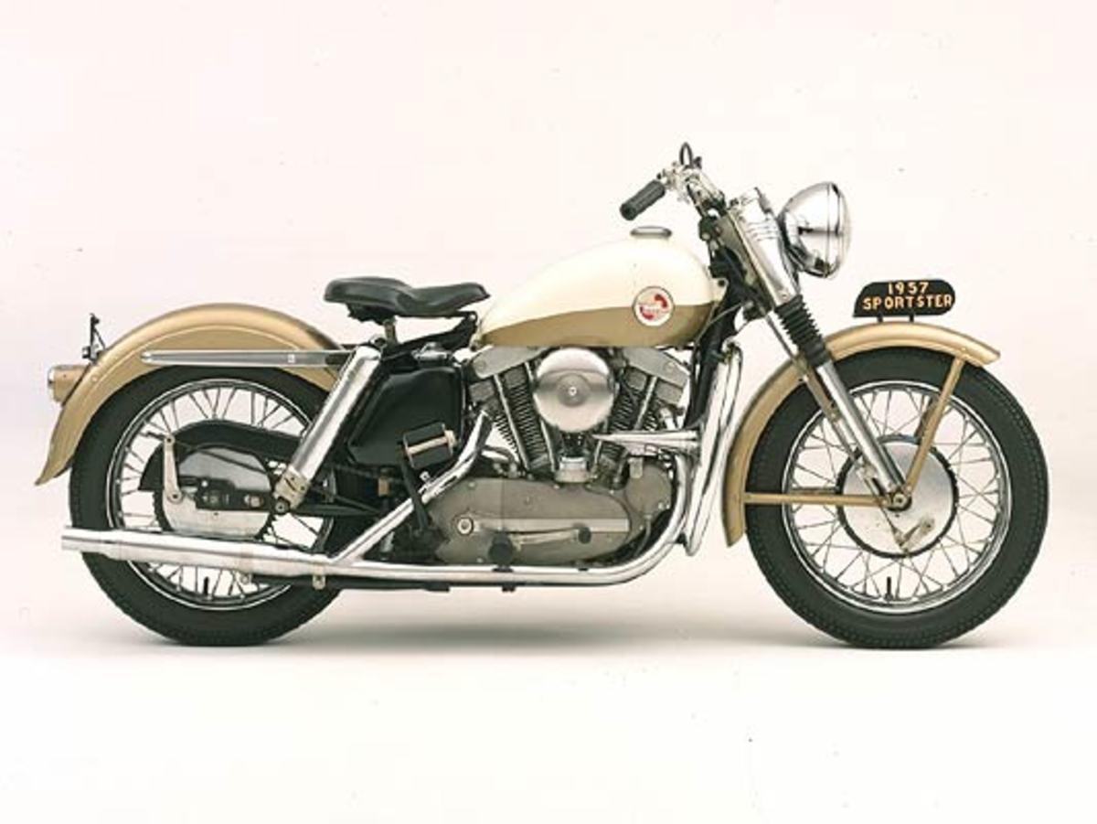 1957 Sportster © 2001-2009 H-D.