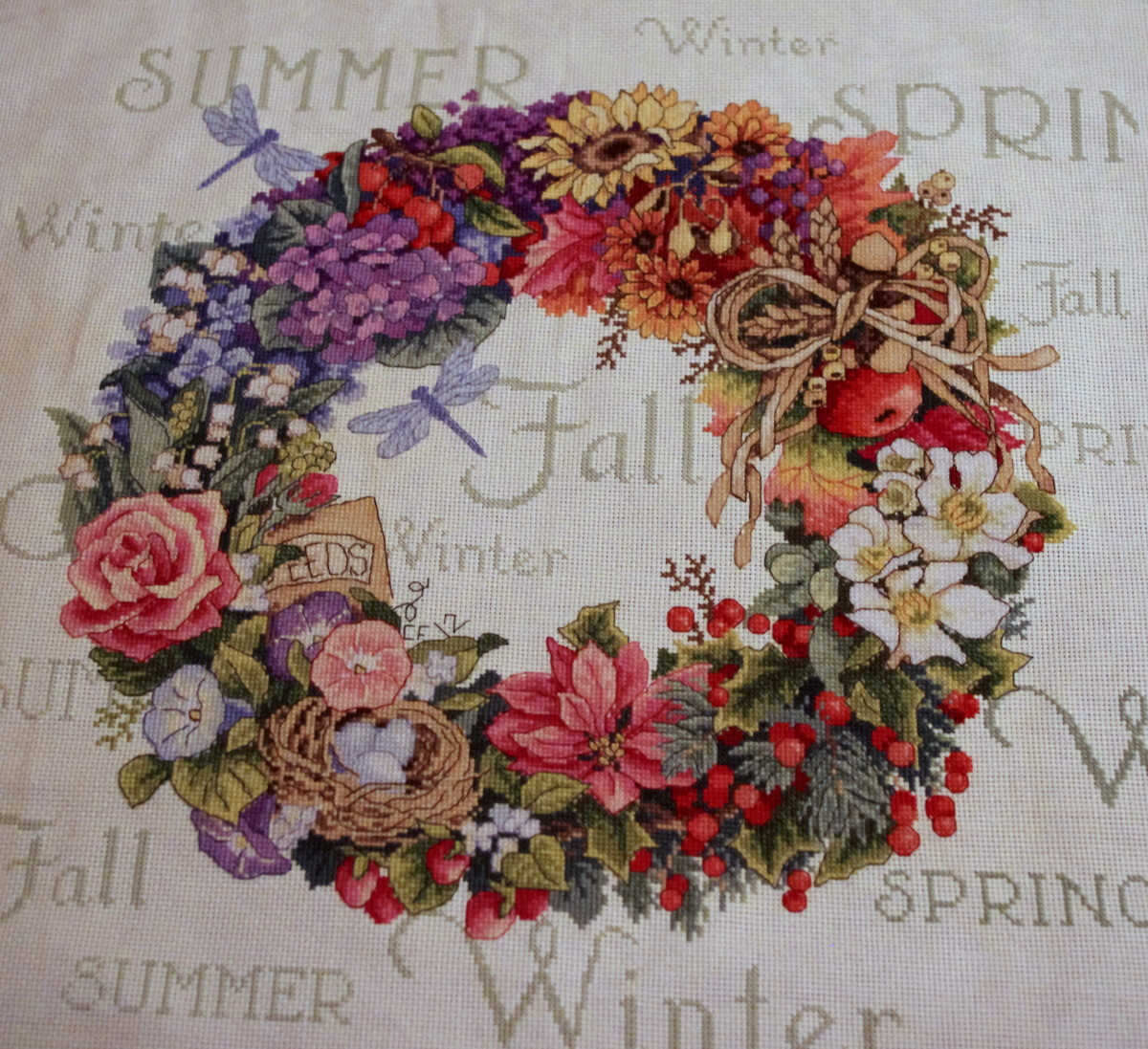 Four-Season Wreath