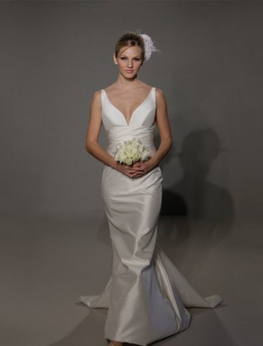 Beautiful Silk Taffeta Bridal Gown- LEGENDS BY ROMONA KEVEZA Style No: 31640766