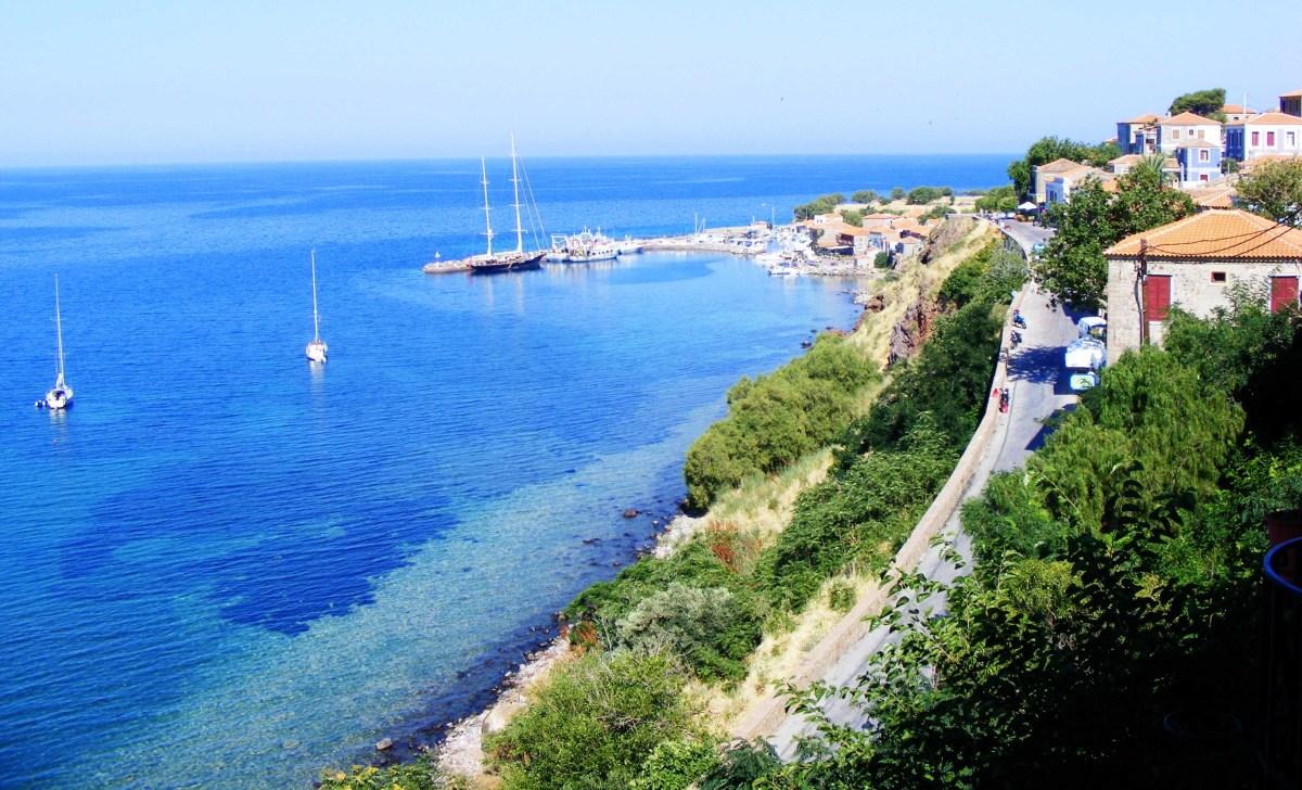 Molyvos coastline
