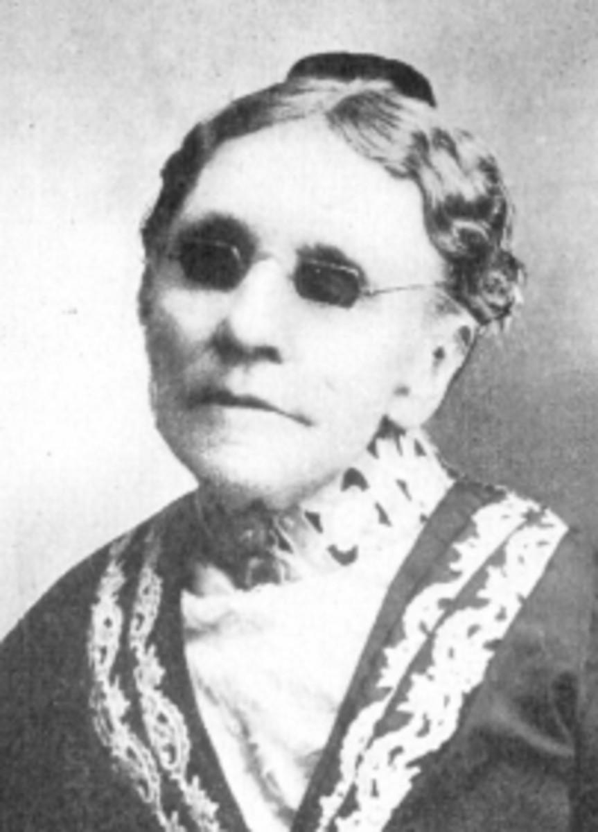 Fanny Crosby.  Source:  Wikimedia Commons.