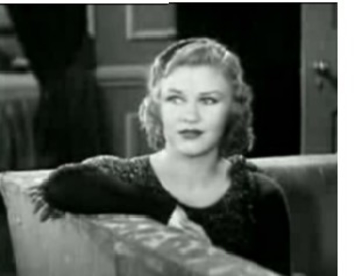 Ginger Rogers' face is a hybrid of long and square.  Her hairstyle rounds out her face.
