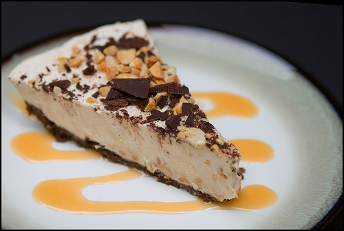 Above is a photo of another version of peanut butter pie.