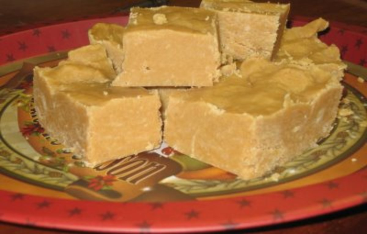 Homemade Peanut Butter Fudge Is On Of My Favorite Candies Ever