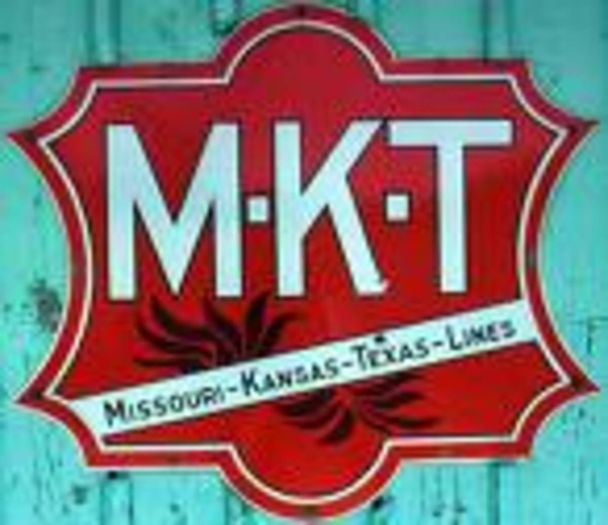 MKT (Missouri, Kansas, Texas) Railroad also know as Katy Railroad
