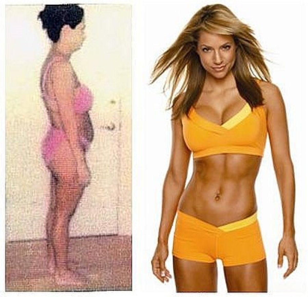 Jennifer Nicole Lee Before and After