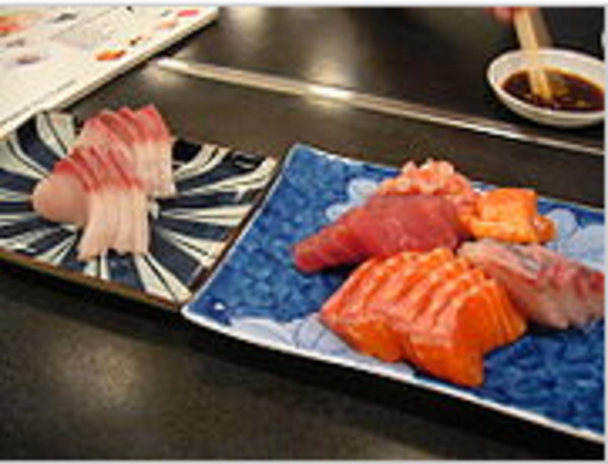 Assorted Sashimi (http://en.wikipedia.org/wiki/Sashimi)