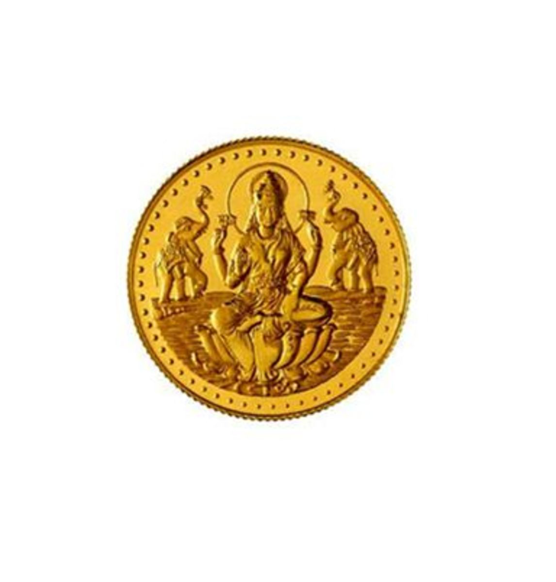 Hindus invest on Laxmi Gold coins on Festivals like  Dhanteras and Dassera.