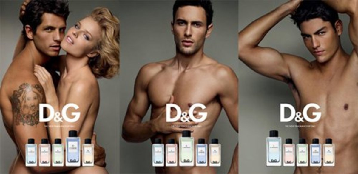 D&G Fragrance Anthology Campaign