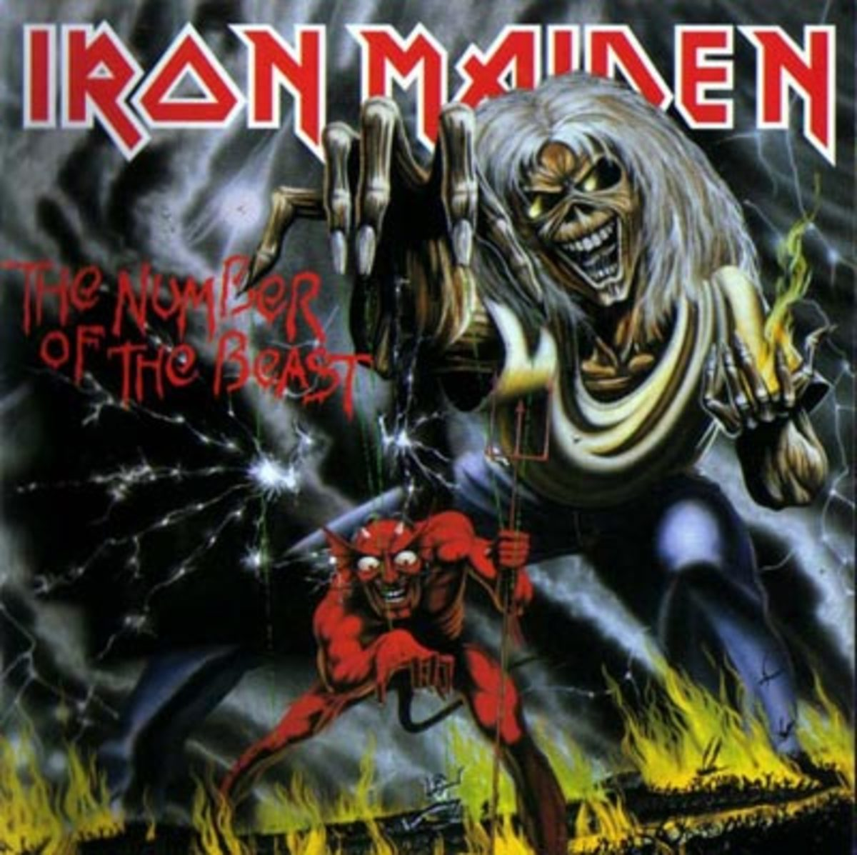 "Iron Maiden "" The Number of the Beast"""