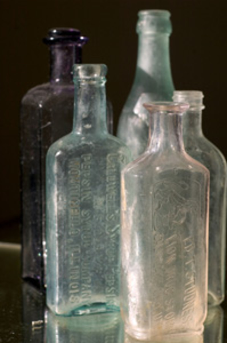 There are so many types of bottles to collect, where does one start?  Narrowing down to a theme is the answer.