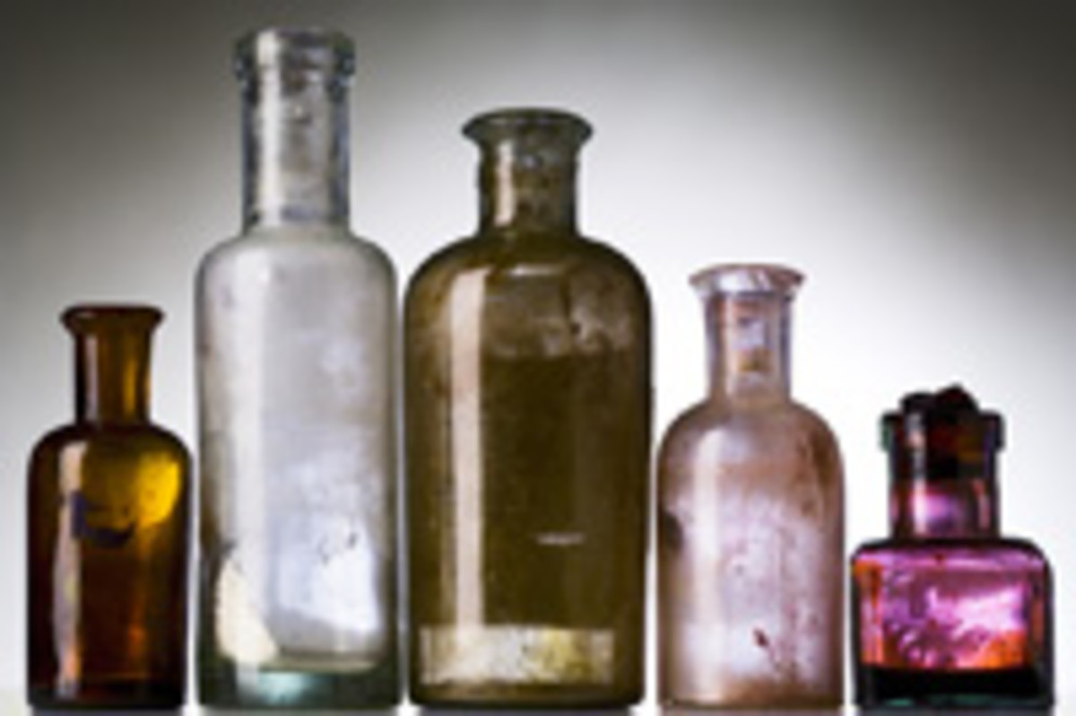 You can own colorful vintage bottles like these as a hobbyist or serious collector.