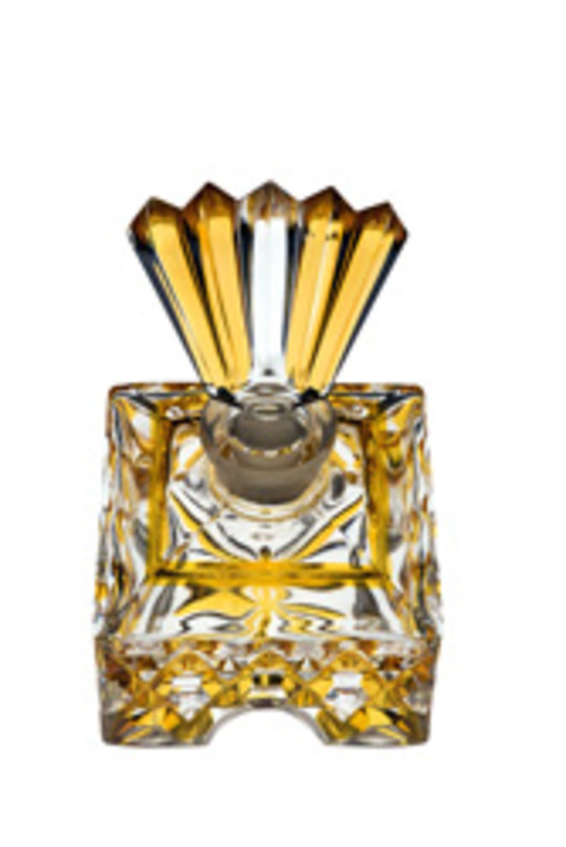 Isn't this a beautiful vintage perfume bottle?  One can see why this is a captivating hobby.