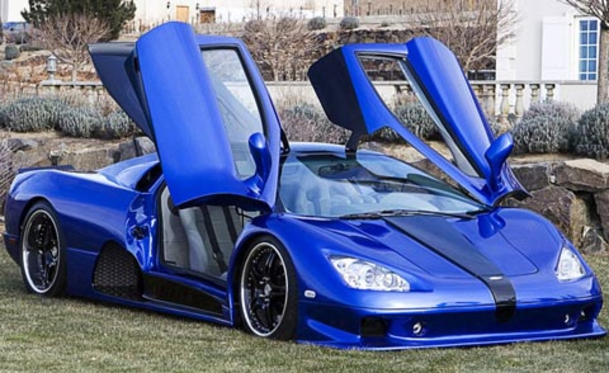 6. SSC Ultimate Aero