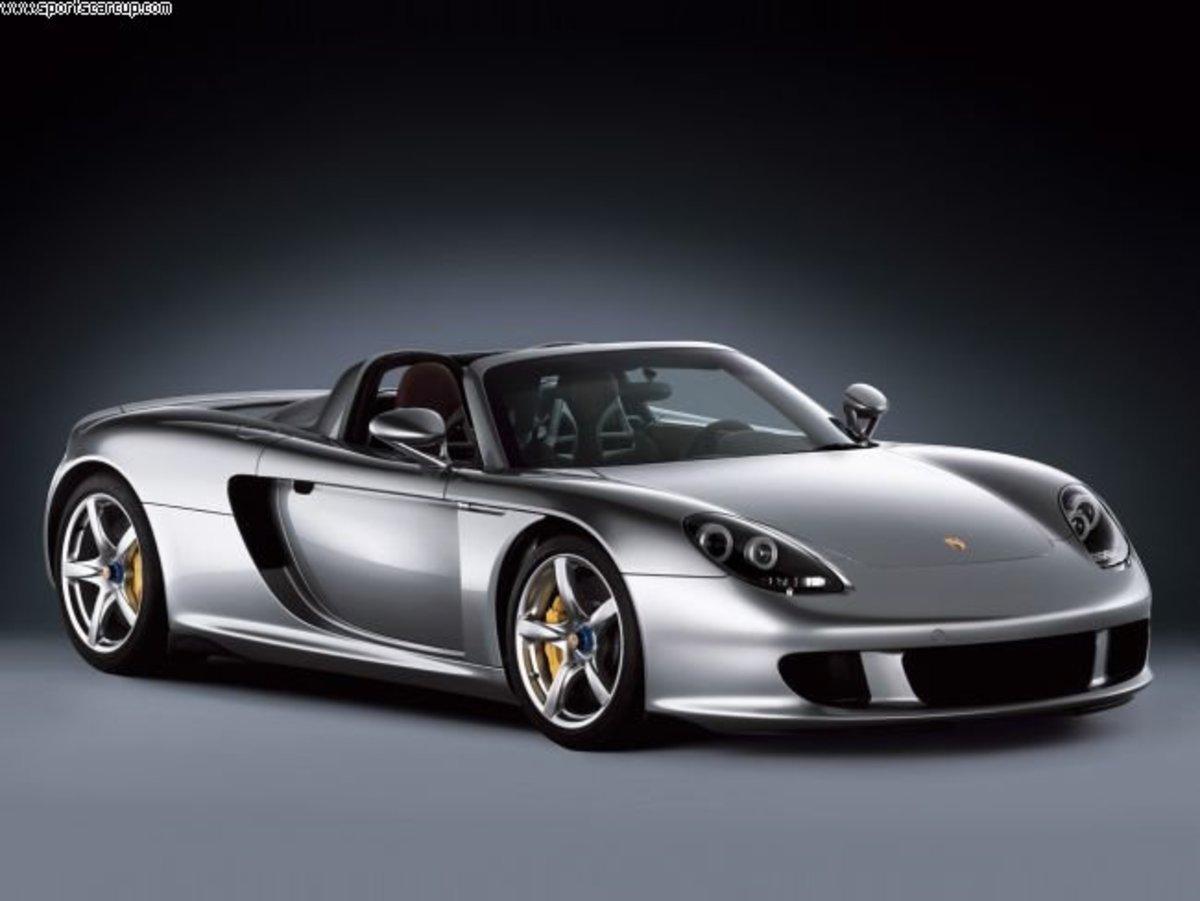 10. Porsche Carrera GT