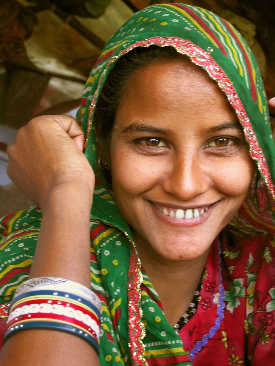 image search result for Indian woman -  photo by Lakshmi Prabhala - Used with permission.