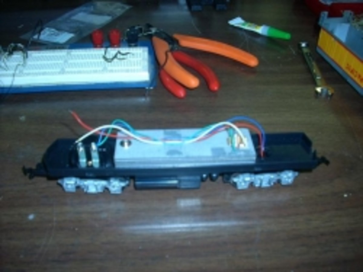 Lighting for your HO Scale Model Locomotive