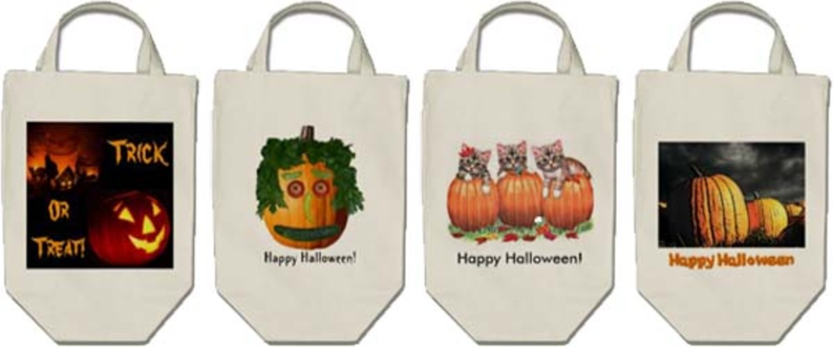 See the link below for these bags and all others on Sandyspider Gifts on Zazzle