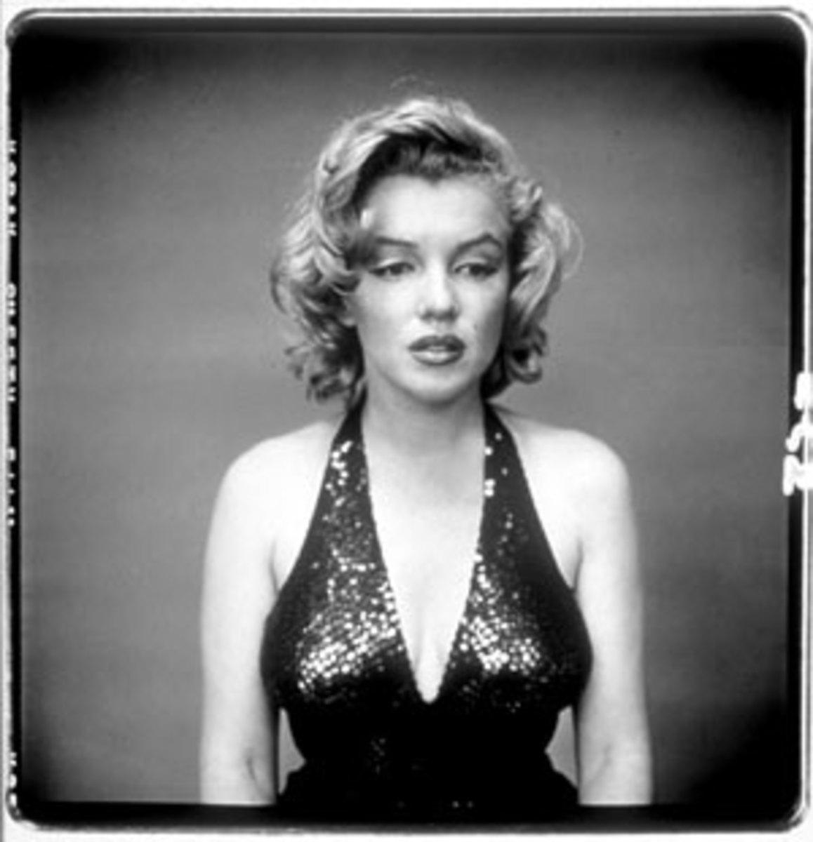 """""""MARILYN MONROE"""" BY RICHARD AVEDON IN 1957"""