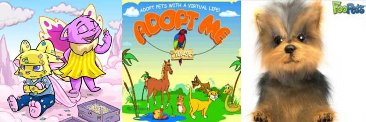 Some virtual pets...