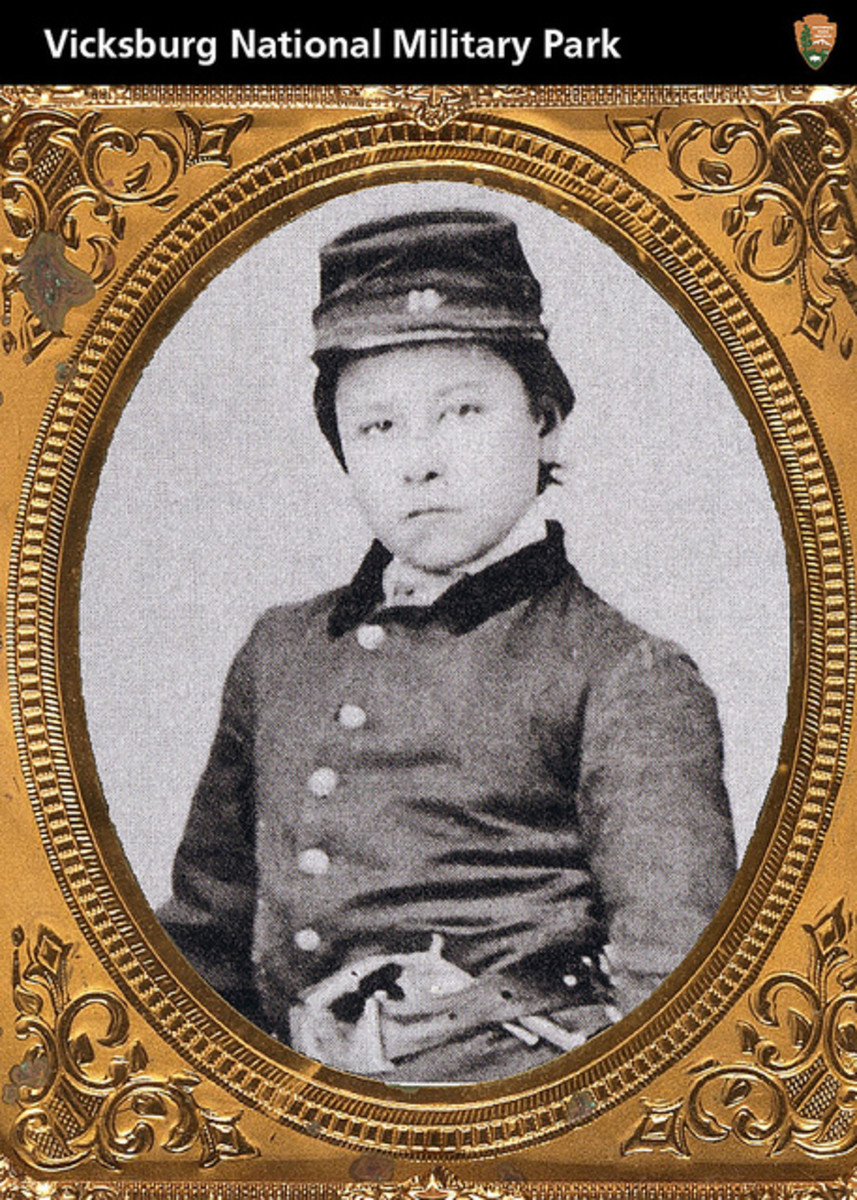 Private Orion P. Howe Musician and Medal of Honor Winner of 1863.