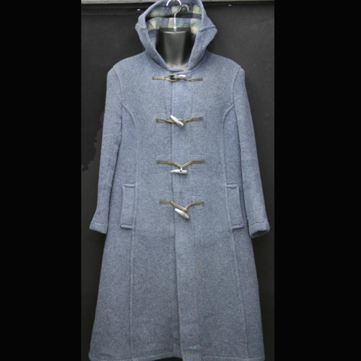 vintage 70's duffle coat