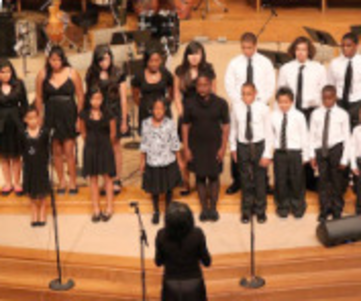 Working with a choir of beginners