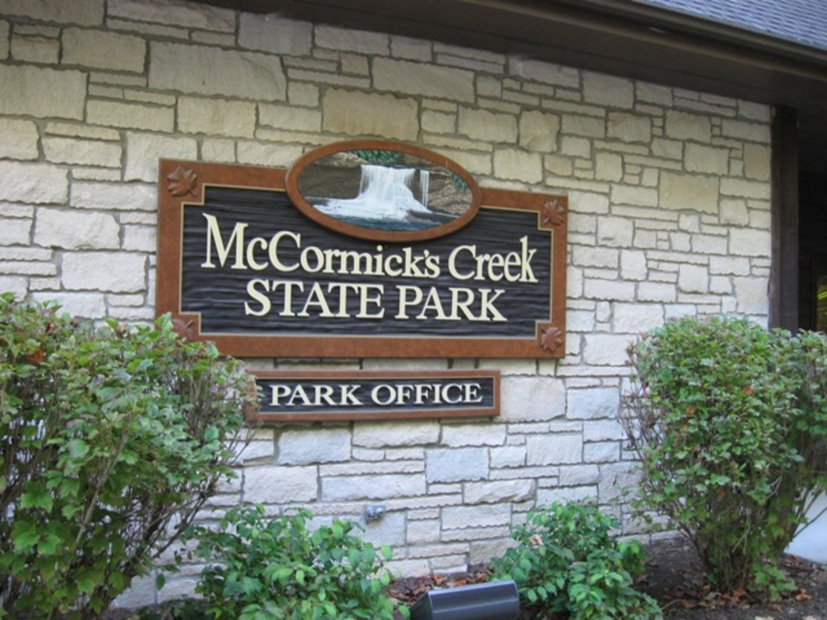 McCormicks Creek State Park
