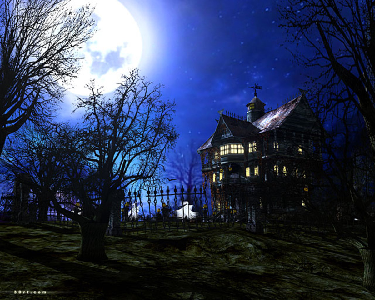 Is there really a 13 story haunted house too terrifying to complete?