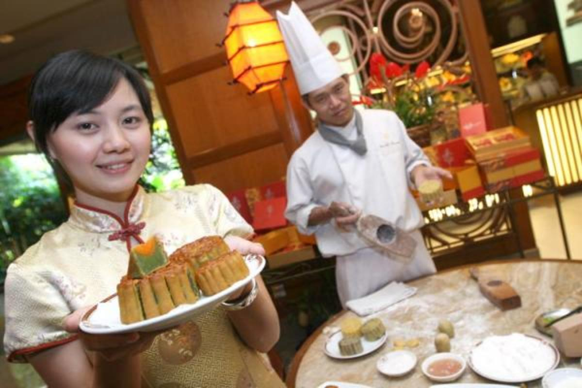 Moon Cake Festival in Shangri-La Hotel, Surabaya, East Java, Indonesia