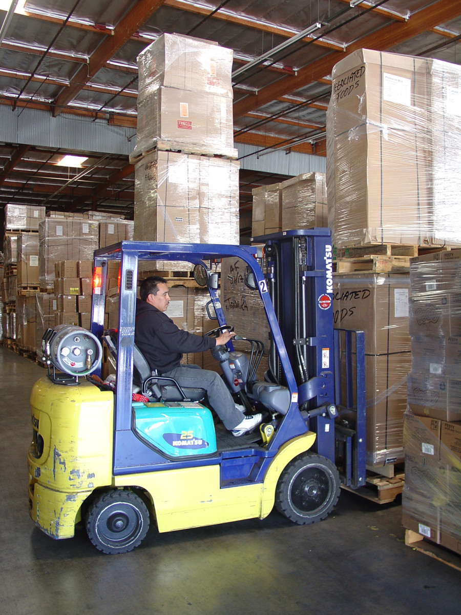 You can be sure that I wasn't paid well when I operated a forklift at Wal-Mart.