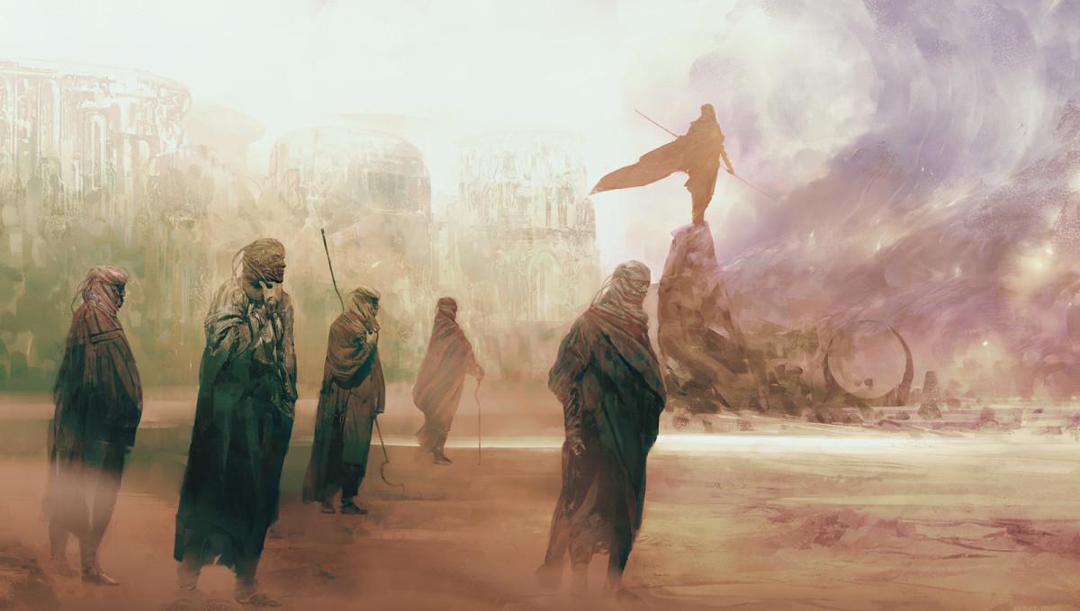 Dune Inspired Concept Art by Simon Goinard.
