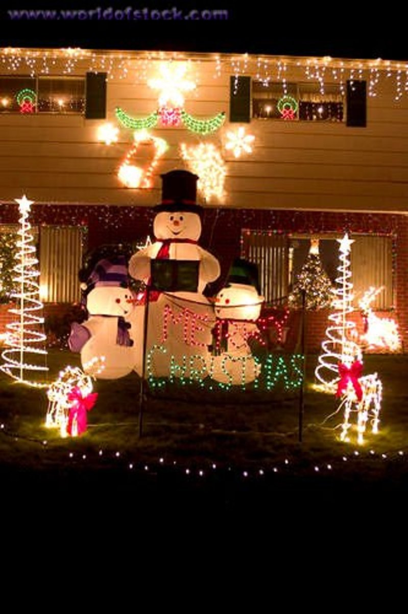 Wonderful Outdoor Christmas Decorations 520x781 In 71 2KB