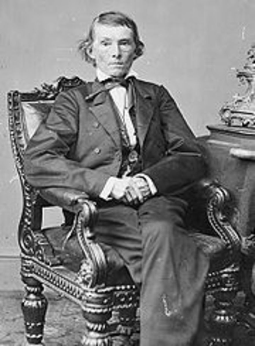 Confederate Vice-President Alexander H. Stephens