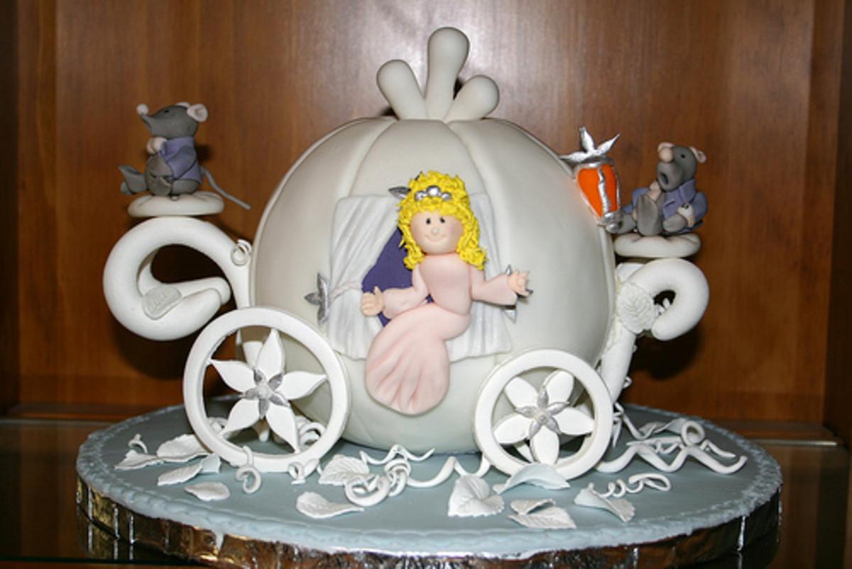 Cinderella Cake by kelannfuller at flickr