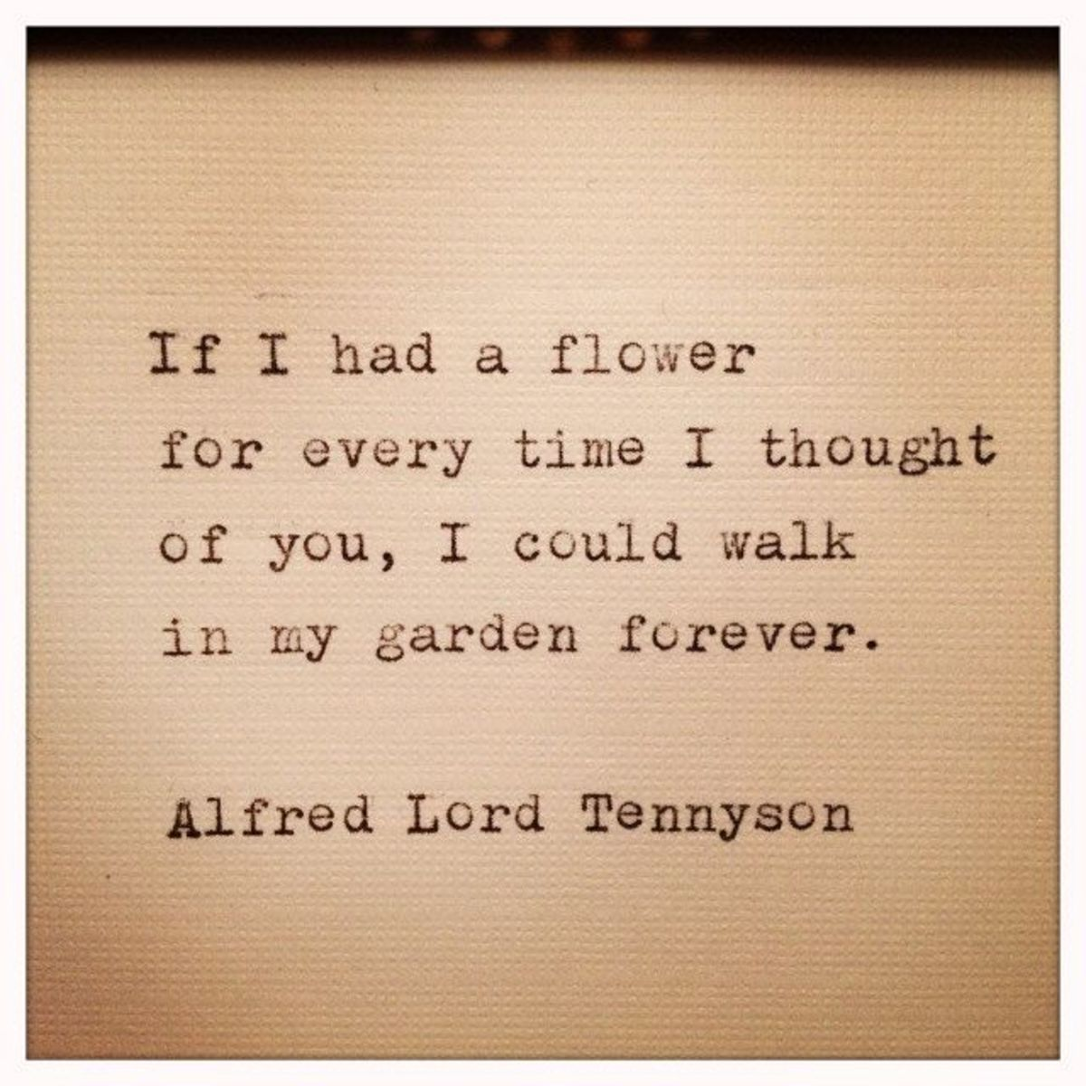 Alfred Tennyson quote on love