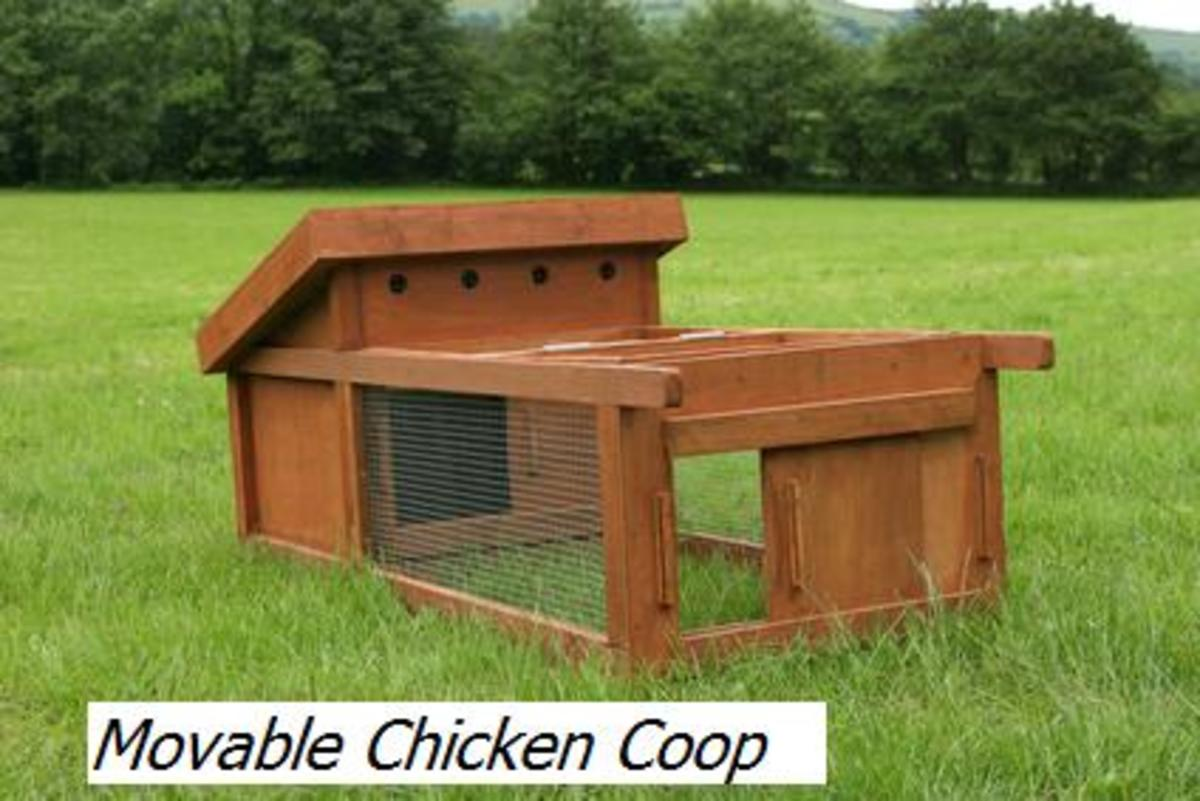 Chicken ark plans for Movable chicken coop plans free