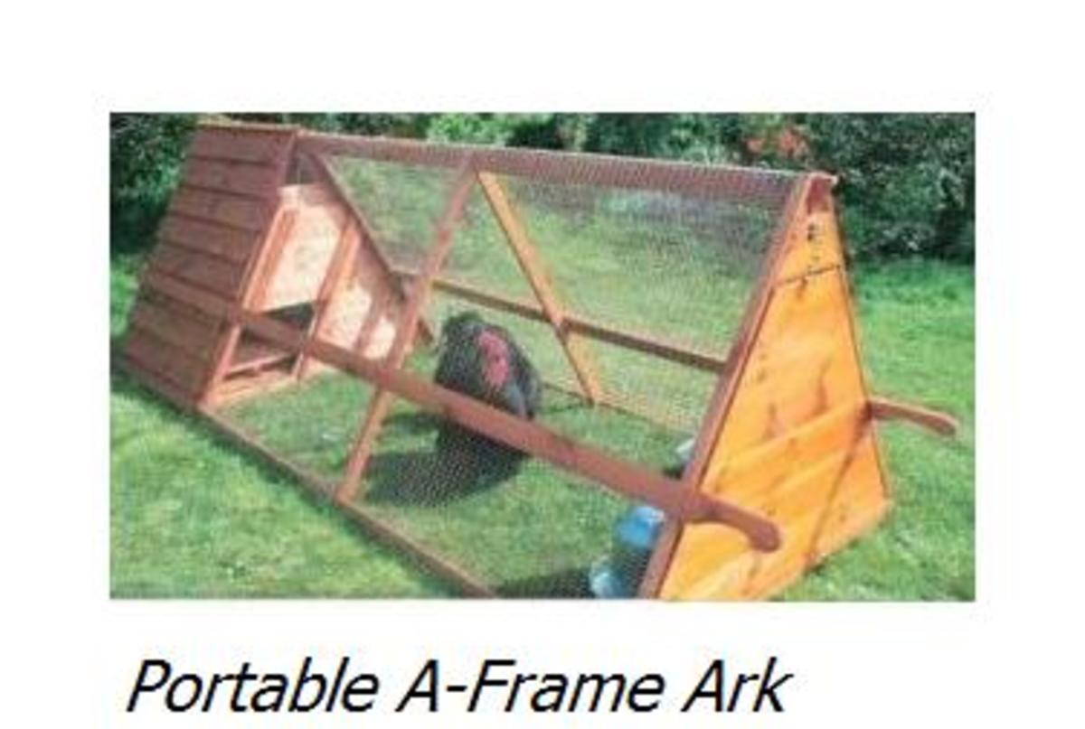 Portable A-Frame Ark